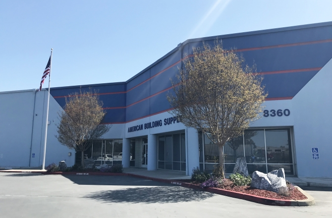 American Building Supply Warehouses Industrial Sacramento